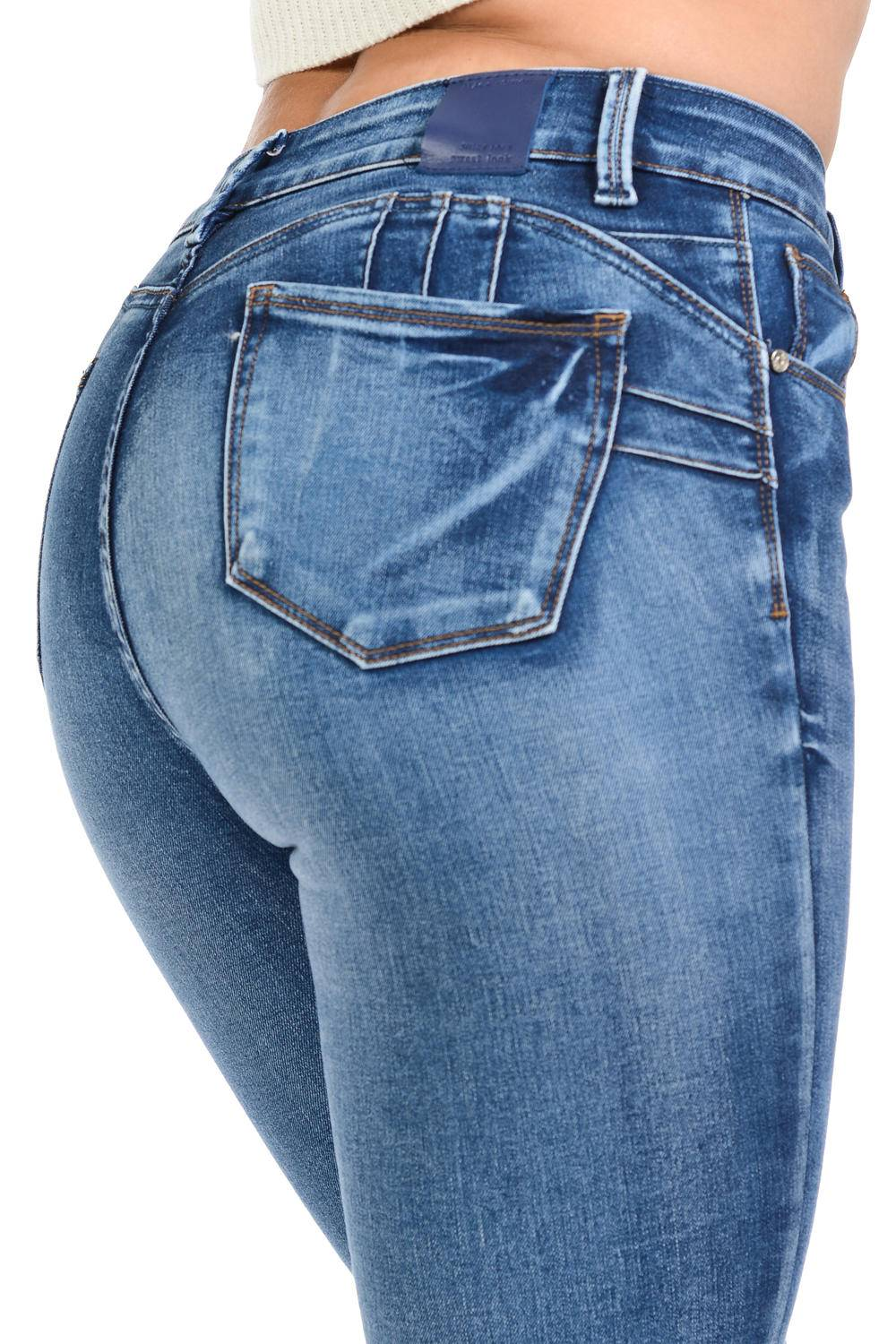 new arrival b700b ecfb7 Sweet Look Black Edition Women's Jeans · Push Up · High Waist · Style A280