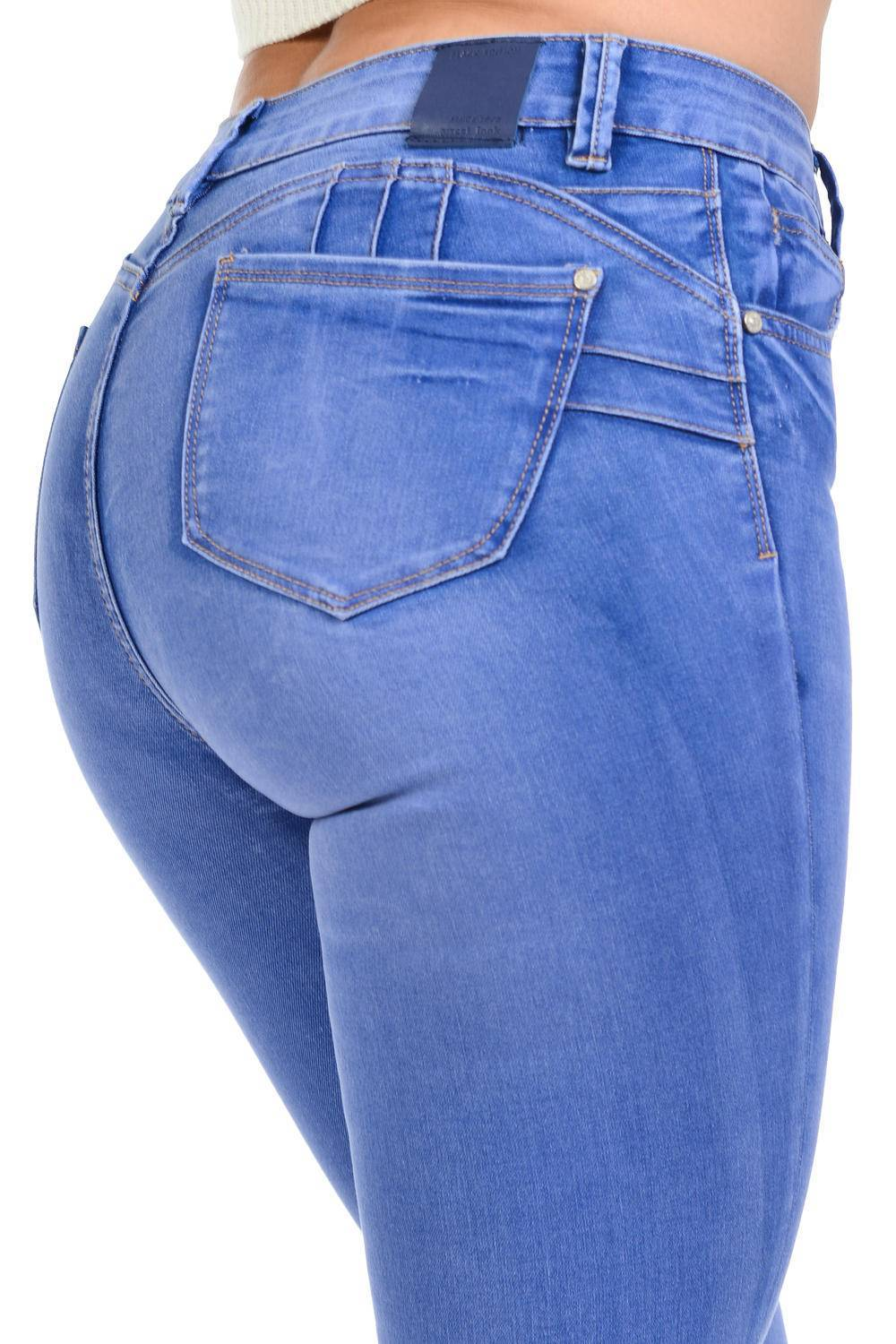 newest 383f6 12861 Sweet Look Black Edition Women's Jeans · Push Up · High Waist · Style A282